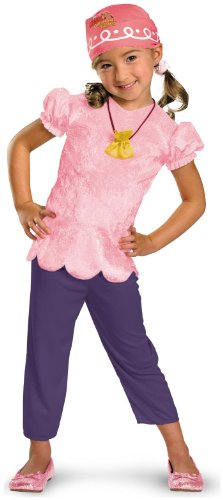 Disney Jake And The Neverland Pirates Izzy Classic Child Costume