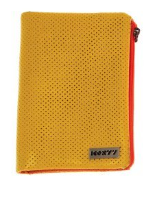 Icon77 Roller girl book wallet - Yellow perforated pu book wallet