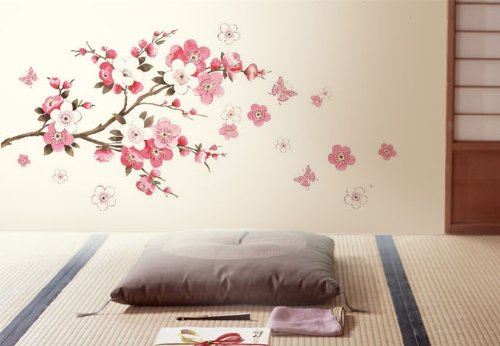 Floral Wall Stickers Are Also A Great Way Of Capturing That Cath Kidston Esque Vibe And You Can Find This Similar Designs On Amazon For 10 Under