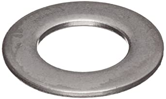 18-8 Stainless Steel Flat Washer, Inch, Made in US