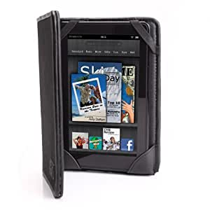 USA Gear Protective Folio Cover Case Compatible the Amazon Kindle Fire
