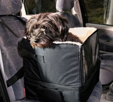 TRIXIE DOG CAR BOOSTER BED SEAT TRAVEL SAFETY PET PUPPY