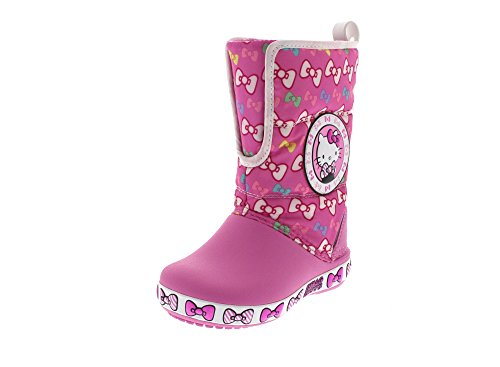 CROCS Kids - HELLO KITTY GUST BOOT - party pink, Dimensione:28-29