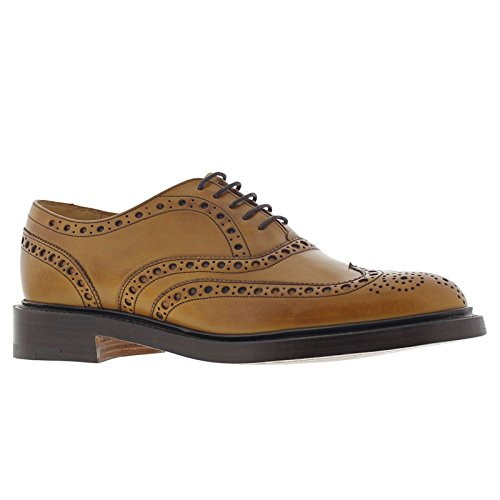 Barker Mens Westfield Cedar Calf Leather Shoes 10 UK