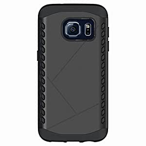 Cruzerlite Cell Phone Case for Samsung Galaxy S7 - Retail Packaging - Black