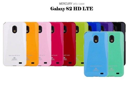 Galaxy S2 HD LTE TPUケース (GALAXY SII WiMAX ISW11SC 対応) Mercury Case【White(白)】