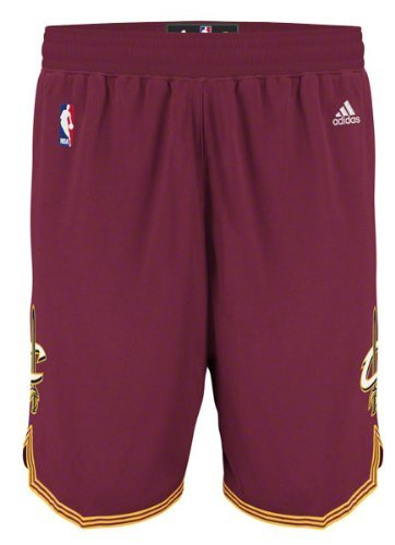 Cleveland Cavaliers NBA Youth Road Shorts Maroon