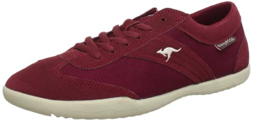 KangaROOS Samantha Trainers Women Red Rot (burgundy/beige 613) Size: 6.5 (40 EU)