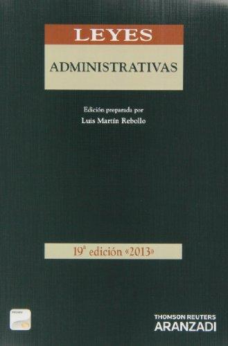 Leyes Administrativas (Papel + e-book) (Código Básico)