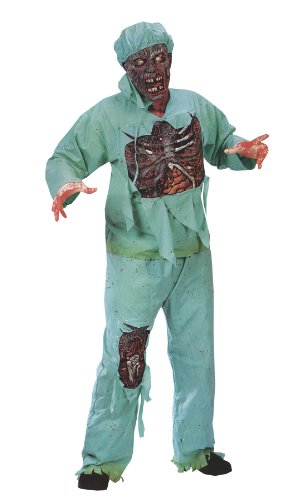 Zombie Doctor Costume - Standard - Chest Size 33-45