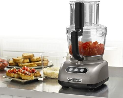 Hot Deal KitchenAid 700-Watt 12-Cup Food Processors (silver)