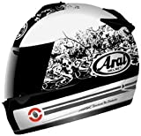 Arai Vector-2 Full Face Motorcycle Riding Race Helmet- Thrill White