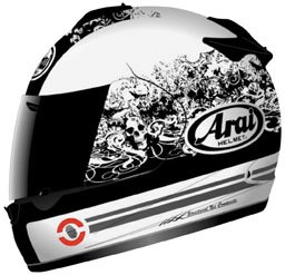 41xBGmcl8IL Arai Vector 2 Full Face Motorcycle Riding Race Helmet  Thrill White
