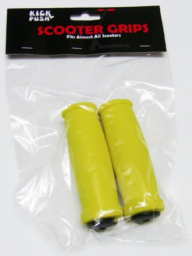 Kick Push Scooter Handle Grips, Yellow
