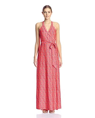 JB by Julie Brown Women's Sharon Maxi Wrap Dress
