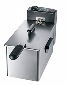 Severin Deep Fryer 3.3 Litre Brushed Stainless Steel
