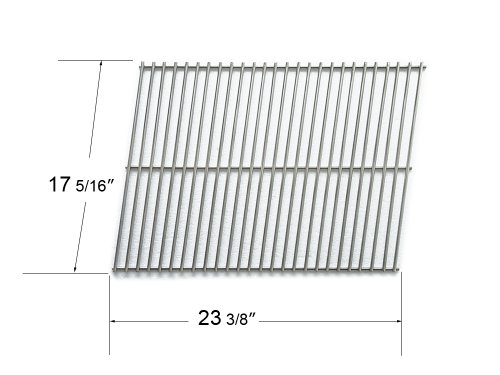 53801 - Stainless Steel Cooking Grid Fits Models Kalamazoo, Kenmore, Kmart, Nexgrill And Weber