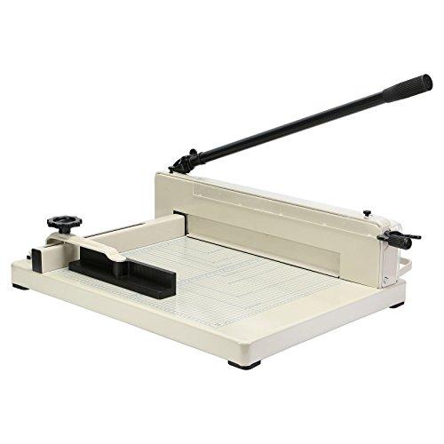 OrangeA Paper Cutter Guillotine Paper Cutter Trimmer Machine 17 Inch Heavy Duty Paper Cutting Tool (17 Inch A3 Patter Cutter)