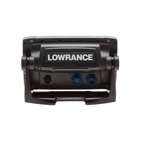 Lowrance elite 7 base combo dual imaging chartplotter with for Lowrance hdi trolling motor adaptor for skimmer transducer