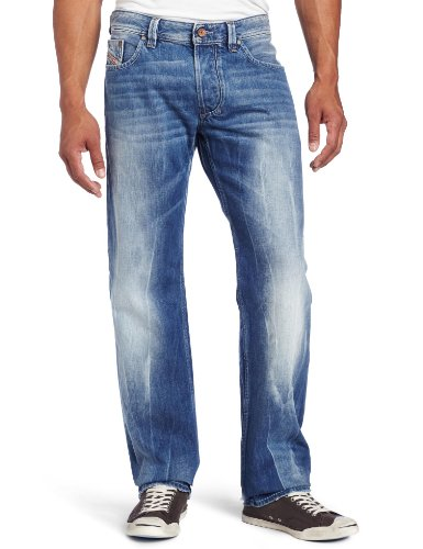 Diesel - Mens Larkee 0888B Denim Jeans, Size: 32W x 30L, Color: Denim
