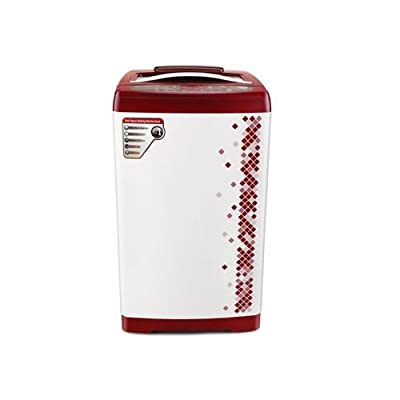Videocon VT70G12 Digi Pearl Supreme Fully-automatic Top-loading Washing Machine (7 Kg, Glossy White)