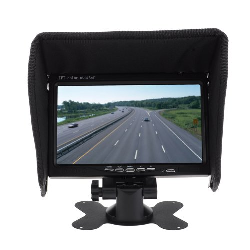 """Neewer 7"""" Pillow Tft Lcd Color Car Rearview Headrest Monitor Dvd Vcr Remote Control"""