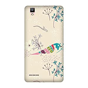 Super Cases Printed Back Cover For Oppo F1