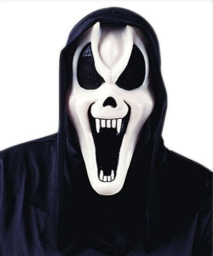 Ghost Face Fang Mask - 1