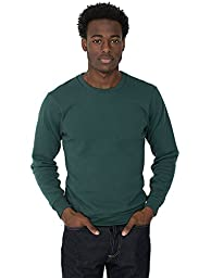American Apparel Men Drop Shoulder Pullover Size XXS Forest