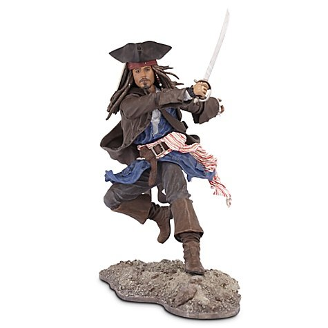 Picture of Jakks Pacific Pirates of the Caribbean On Stranger Tides 6 Inch Series 1 Action Figure Captain Jack Sparrow (B004QUGBHG) (Jakks Pacific Action Figures)