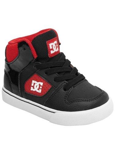 Dc Base Skate Shoe (Toddler/Little Kid/Big Kid),Black/Athletic Red,5 M Us Toddler front-1032757