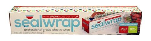 aep-industries-zp12250c-seal-wrap-professional-grade-plastic-wrap-zip-safe-slide-cutter-clear