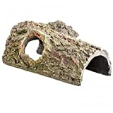 Zilla Bark Bends Reptile Terrarium Decoration: Large 11 1 L x 5 5 W x 4 8 H