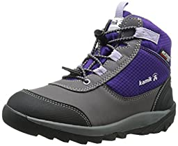 Kamik Daytrip Hiker (Little Kid/Big Kid), Royal Purple, 5 M US Big Kid
