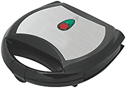 SHEFFIELD CLASSIC 6003 Triangle Sandwich Maker (Black & White)