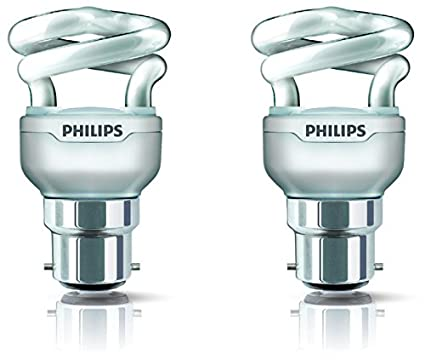 Philips-Tornado-B22-5-Watt-CFL-(Warm-White-and-Pack-of-2)