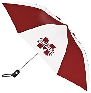 Buy NCAA Mississippi State Bulldogs Automatic Folding Umbrella by WinCraft