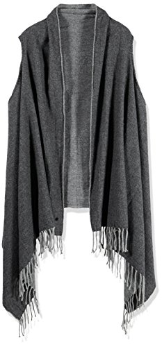 Marc O'Polo Damen Schal 607810309115, Gr. One Size, Grau (grey stone 947) thumbnail