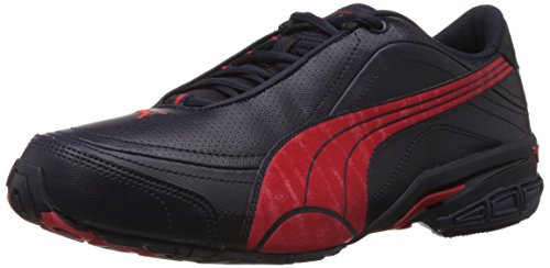Puma Men's Tazon II DP Nightshade-Red-Black Running Shoes - 6 UK  available at amazon for Rs.4049