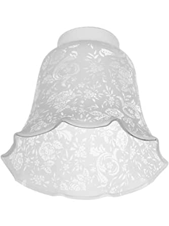 "Go Bath Fitter >> Victorian Lace Filigree Fixture Shade With 2 1/4"" Fitter ..."