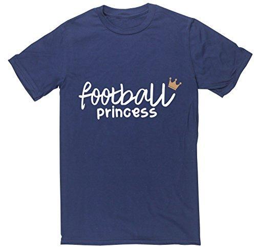 HippoWarehouse Football-Maglietta a maniche corte unisex Blu navy X-Large