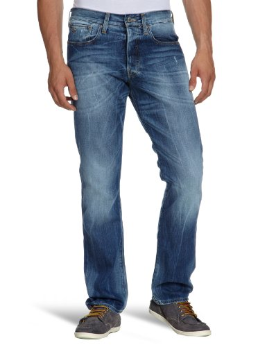 G-Star Mens Straight Jeans 3301 Straight, denim, size. 29/34