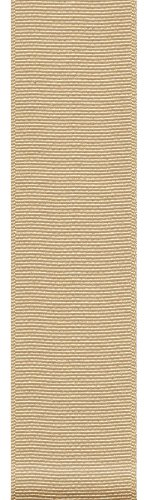 Offray ECO Grosgrain Craft Ribbon, 1-1/2-Inch Wide by 50-Yard Spool, Natural