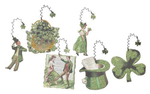 Primitives By Kathy Miniature Vintage Cutout Ornaments – Irish St. Pattys Day