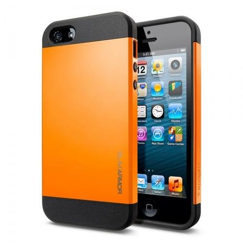Slim Armor Case Case Slim Armor Color Series Case for iPhone 5 Tangerine Tango-orange