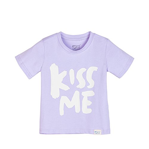 Little-Blue-Lamb-Camiseta-de-1502-Kiss-Me-algodn-color-lila-Flieder-2-3-Aos-90-cm