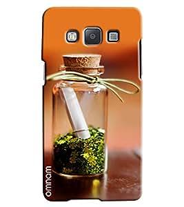 Omnam Letter Captured In Jar Printed Designer Back Cover Case For Samsung Galaxy A5