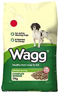 Wagg Complete Worker Beef and Vegetables Dry Mix 17 kg