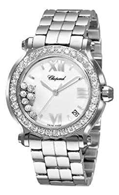 Chopard Happy Sport Floating Diamonds Ladies Watch 27/8478-2001