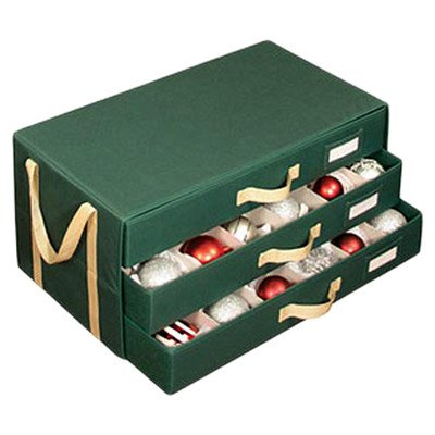 Richards Homewares Holiday 3 Drawer 54 Cell Ornament